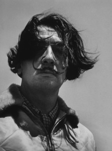 Salvador Dali in Port Lligat Spain, 1953. Photo: Ernest Reshovsky © 1978 Marc Reshovsky - Image 16666_0002
