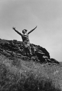 Salvador Dali in Port Lligat Spain, 1953. Photo: Ernest Reshovsky © 1978 Marc Reshovsky - Image 16666_0003