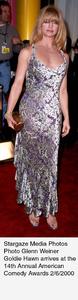 """Comedy Awards: 14th Annual,""Goldie Hawn .  2/06/00. © 2000 Glenn Weiner - Image 16678_0104"