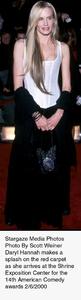"""Comedy Awards: 14th Annual,""Daryl Hannah.  2/06/00. © 2000 Scott Weiner - Image 16678_0106"