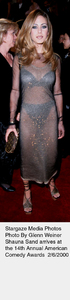 """Comedy Awards: 14th Annual,""Shauna Sand.  2/06/00. © 2000 Glenn Weiner - Image 16678_0110"
