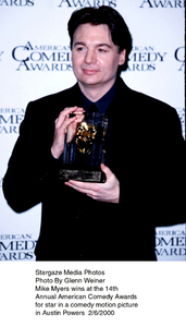 """Comedy Awards: 14th Annual,""Mike Myers.  2/06/00. © 2000 Glenn Weiner - Image 16678_0112"