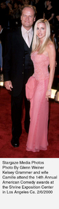 """""""Comedy Awards: 14th Annual,""""Kelsey Grammer and wife Camille.2/06/00. © 2000 Glenn Weiner - Image 16678_0116"""