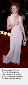 """Comedy Awards: 14th Annual,""Kate Hudson.  2/06/00. © 2000 Glenn Weiner - Image 16678_0117"