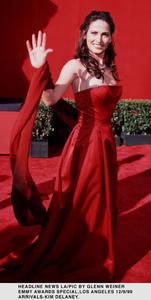 """Emmy Awards - 51st Annual"" (Primetime)Kim Delaney.   9/12/99. © 1999 Glenn Weiner - Image 16679_0104"