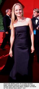 """""""Emmy Awards - 51st Annual"""" (Primetime)Helen Hunt.   9/12/99. © 1999 Glenn Weiner - Image 16679_0109"""