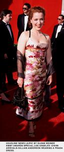 """""""Emmy Awards - 51st Annual"""" (Primetime)Gillian Anderson.   9/12/99. © 1999 Glenn Weiner - Image 16679_0112"""