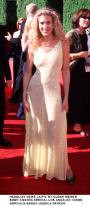 """Emmy Awards - 51st Annual"" (Primetime)Sarah Jessica Parker.   9/12/99. © 1999 Glenn Weiner - Image 16679_0116"