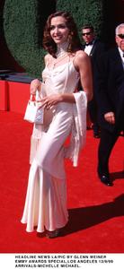 """""""Emmy Awards - 51st Annual"""" (Primetime)Michelle Michael.   9/12/99. © 1999 Glenn Weiner - Image 16679_0117"""