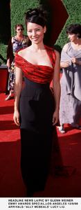 """Emmy Awards - 51st Annual"" (Primetime)Lucy Liu.   9/12/99. © 1999 Glenn Weiner - Image 16679_0120"