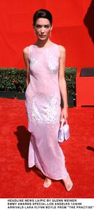 """Emmy Awards - 51st Annual"" (Primetime)Lara Flynn Boyle.   9/12/99. © 1999 Glenn Weiner - Image 16679_0123"