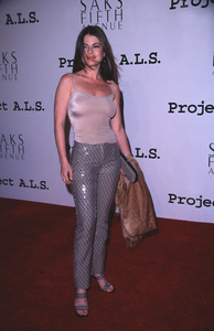"""Project A.L.S. - 2nd Annual,""Yasmine Bleeth.  4/10/00. © 2000 Scott Weiner - Image 16687_0015"