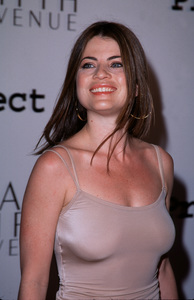 """Project A.L.S. - 2nd Annual,""Yasmine Bleeth.  4/10/00. © 2000 Glenn Weiner - Image 16687_0016"