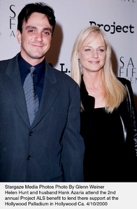 """""""Project A.L.S. -  2nd Annual,""""Hank Azaria and Helen Hunt.4/10/00. © 2000 Glenn Weiner - Image 16687_0107"""