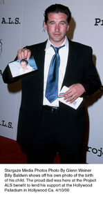 """""""Project A.L.S. -  2nd Annual,""""Billy Baldwin.  4/10/00. © 2000 Glenn Weiner - Image 16687_0108"""