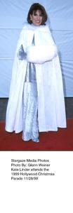 """Hollywood Christmas Parade,""Kate Linder.  11/28/99. © 1999 Glenn Weiner - Image 16690_0104"