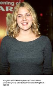 """Dog Park"" Premiere,Drew Barrymore.  9/23/99. © 1999 Glenn Weiner - Image 16692_0100"