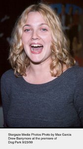 """Dog Park"" Premiere,Drew Barrymore.  9/23/99.Photo by Max Garcia - Image 16692_0104"