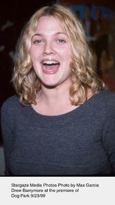 """Dog Park"" Premiere,Drew Barrymore.  9/23/99.Photo by Max Garcia - Image 16692_0104"