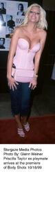 """""""Body Shots"""" Premiere.Priscilla Taylor.  10/18/99. © 1999 Glenn Weiner - Image 16693_0102"""