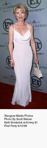 """""""ET Emmy Post Party,""""Beth Broderick.  9/12/99. © 1999 Scott Weiner - Image 16695_0105"""