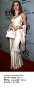 """""""ET Emmy Post Party,""""Michele Maika.  9/12/99. © 1999 Scott Weiner - Image 16695_0108"""