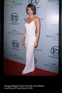 """""""ET Emmy Post Party,""""Lisa Rinna.  9/12/99. © 1999 Scott Weiner - Image 16695_0110"""