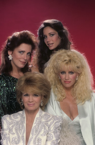 """Hollywood Wives""Joanna Cassidy, Angie Dickinson, Mary Crosby, Suzanne Somers1985© 1985 Mario Casilli - Image 16716_0010"