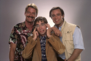 """Riptide""Perry King, Thom Bray, Joe Penny1984 © 1984 Mario Casilli - Image 16720_0004"