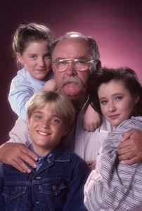 """""""Our House""""Chad Allen, Keri Houlihan, Wilford Brimley, Shannen Doherty1986© 1986 Mario Casilli - Image 16722_0004"""