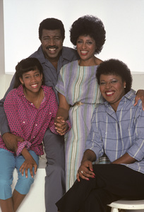 """227""Regina King, Hal Williams, Marla Gibbs, Alaina Reed-Hall1985© 1985 Mario Casilli - Image 16741_0007"