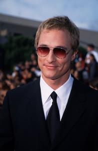 """Alma Awards,"" Matthew McConaughey.4/16/00. © 2000 Glenn Weiner - Image 16757_0029"