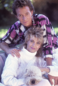 Markie Post and her husband, Michael A. Ross1986© 1986 Mario Casilli - Image 16766_0012