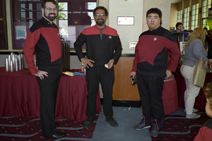 Star Trek Convention at the Burbank, California Airport Hilton1994© 1994 Ron Avery - Image 1678_0001