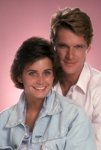 """Misfits of Science""Courteney Cox, Dean Paul Martin1985 © 1985 Mario Casilli - Image 1680_0001"