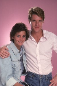 """Misfits of Science""Courteney Cox, Dean Paul Martin1985© 1985 Mario Casilli - Image 1680_0010"