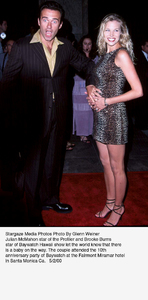 """Baywatch 10th Anniversary Party,""Julian McMahon and Brooke Burns.5/02/00. © 2000 Glenn Weiner - Image 16823_0105"
