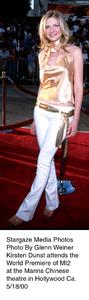 """Mission Impossible Two"" Premiere,Kirsten Dunst.  5/18/00. © 2000 Glenn Weiner - Image 16861_0106"