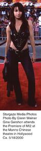 """Mission Impossible Two"" Premiere,Gina Gershon.  5/18/00. © 2000 Glenn Weiner - Image 16861_0109"