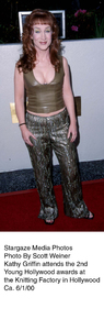 """""""Young Hollywood Awards - 2nd Annual,""""Kathy Griffin.  6/1/00. © 2000 Glenn Weiner - Image 16887_0104"""