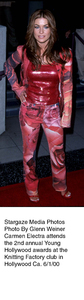 """""""Young Hollywood Awards - 2nd Annual,""""Carmen Electra.  6/1/00. © 2000 Glenn Weiner - Image 16887_0108"""