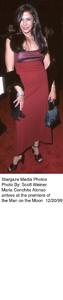 """Man On The Moon"" Premiere,Maria Conchita Alonso.  12/20/99. © 1999 Scott Weiner - Image 16909_0103"