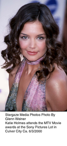 """MTV Movie Awards,""Katie Holmes.  6/3/00. © 2000 Glenn Weiner - Image 16910_0102"