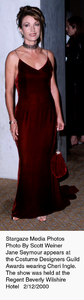 """Costume Designers Guild Awards,""Jame Seymour.  2/12/00. © 2000 Scott Weiner - Image 16944_0101"