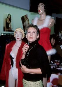 """""""Divine Design Gala,"""" Jamie Lee Curtis © 1999 Weiner - Image 16947_0103"""