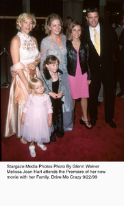"""""""Drive Me Crazy"""" Premiere,Melissa Joan Hart with her family.9/22/99. © 1999 Glenn Weiner - Image 16969_0100"""