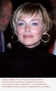 """""""If These Walls Could Talk Two,Sharon Stone. 3/1/00. © 2000 Glenn Weiner - Image 16975_0102"""