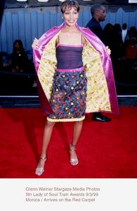"""Lady Of Soul Train Awards - 5th Annual,""Monica.  9/3/99. © 1999 Glenn Weiner - Image 16977_0102"