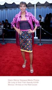 """Lady Of Soul Train Awards - 5th Annual,""Monica.  9/3/99. © 1999 Glenn Weiner - Image 16977_0103"