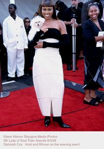 """Lady Of Soul Train Awards - 5th Annual,""Deborah Cox.  9/3/99. © 1999 Glenn Weiner - Image 16977_0105"